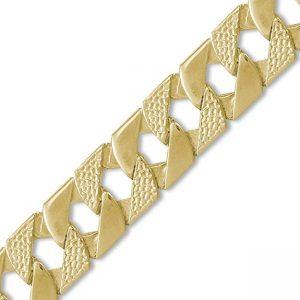 Cadenas fabricadas con oro para hombres