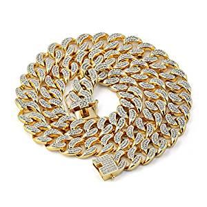 Preciosas cadenas con diamantes