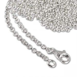 Cadenas de plata largas perfectas para cualquier vestido