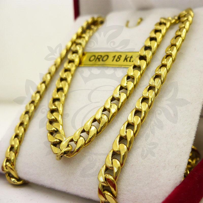 Cadenas de auténtico oro de 48 K
